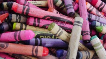 What is it about crayons…