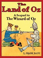 Land of Oz book cover.