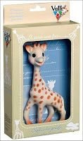Sophie the Giraffe, All Natural Rubber Teething Toy