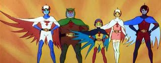 Still from G-Force 70s Cartoon