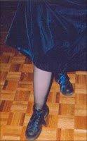 My blue wedding gown.