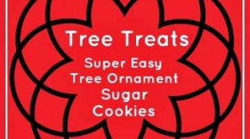 "Super Easy ""Tree Ornament"" Sugar Cookies"