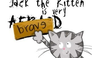 Jack the Kitten is Very Brave {Review}