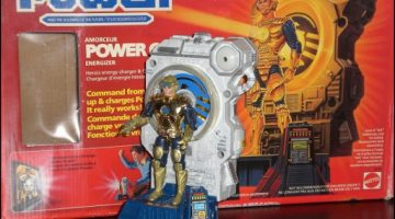 C is for… Captain Power {Retro Toybox}