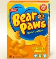 Dare Bear Paws Crackers { Review }