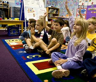 Happy kids in Kindergarten