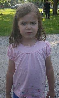 Cranky preschooler.