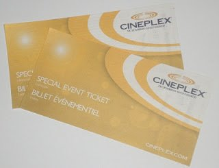 Cineplex passes
