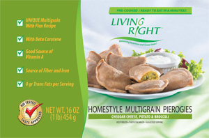 Life Choice Foods Multigrain Pierogies