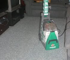 Bissell's Big Green Deep Cleaning Machine, Rental Review