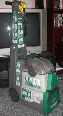 Big Green Carpet Cleaning Machine