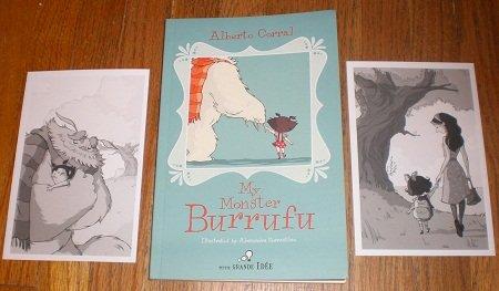 My Monster Burrufu Paperback Chapter Book