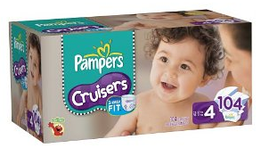 New Pampers Cruisers.