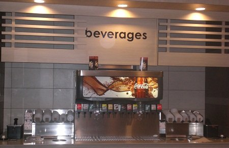 Beverage COunter at McDonalds.