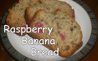 Raspberry Banana Bread Recipe
