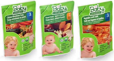 Baby Gourmet's New Protein Purees