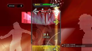Screenshot from Dance Dance Revolution