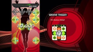 Screenshot from DDR for the xBox 360