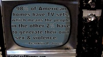 Sex, Violence and Television