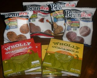 Beanitos Chips and Wholly Guacamole