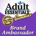 Adult Essentials Gummies Brand Ambassador Button