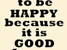 On Happiness and Health…