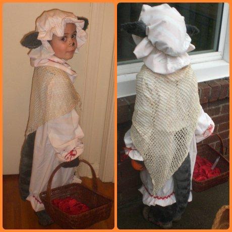 Big Bad Wolf in Grannies Clothing