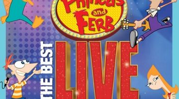 Phineas and Ferb are embarking on The Best LIVE Tour Ever! And it's coming to Windsor!