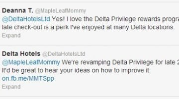 Delta Hotels plan to update their rewards program in 2013, Here's how you can have your say…