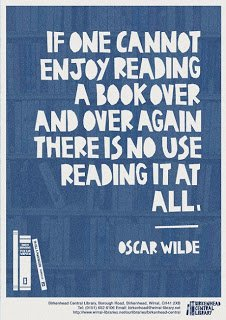 If one cannot enjoy reading a book over and over again...