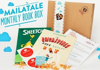 Sample box from Mail a Tale