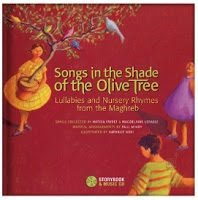 Songs in the Shade of the Olive Tree: Arabic Lullabies & Nursery Rhymes, Picture Book & Music CD {Review}