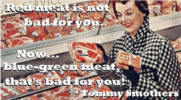 Red Meat vs. Green Meat