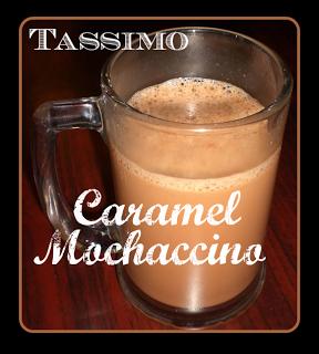 TASSIMO Caramel Mochaccino