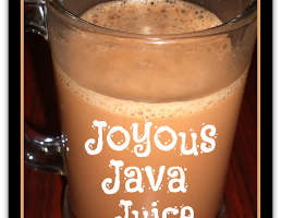 J is for… Jittery Journey to Joyous Java Juice {Caramel Mochaccino TASSIMO Recipe}