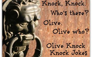 K is for… Knock Knock Knock