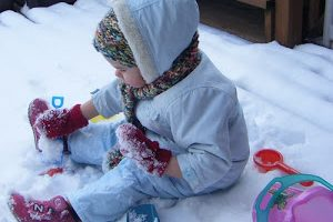Who Needs a Sandbox When You've Got Snow?