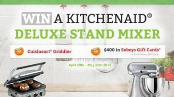 Cool Contest Alert: Make Your Kitchen Even BETTER with the Better Homes & Gardens Real Estate Canada Sweepstakes