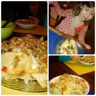 Family nachos night.