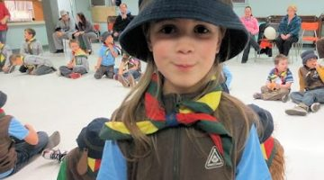 Proud New Beaver Scout