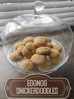 Eggnog Snickerdoodle Cookie Recipe