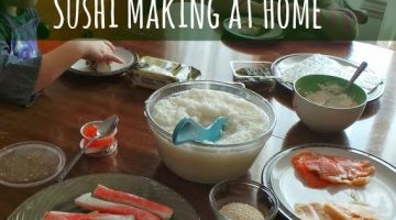 Build Your Own Sushi, Making Kid Friendly Sushi