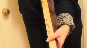 The Differences Between Long Hair & Absurdly Long Hair, aka How I became a Freak