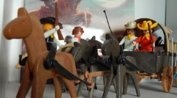 Cowboys and Covered Wagons