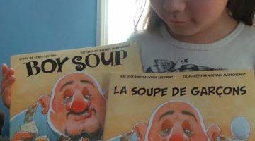 La Soupe De Garcons, TD Grade One Book Giveaway