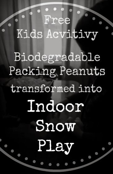 Indoor Snow Play, Free Kids Activity