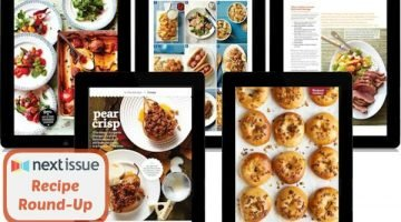 Recipe Round Up with Next Issue, Five New Recipes I Can't Wait to Try