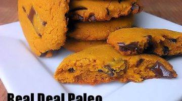 Real Deal Chocolate Chip Cookies {Paleo Recipe}