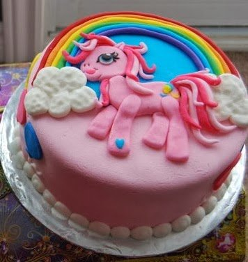 Pinkie Pie My Little Pony Birthday Cake