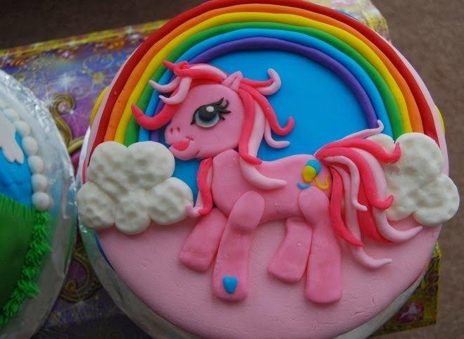 Superb Pinkie Pie My Little Pony Birthday Cake Cake Magic Maple Leaf Personalised Birthday Cards Arneslily Jamesorg